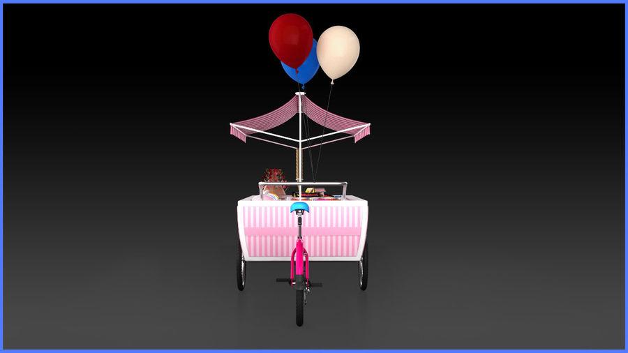 Carrinho de doces royalty-free 3d model - Preview no. 5