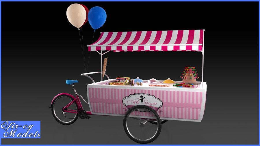 Carrinho de doces royalty-free 3d model - Preview no. 1
