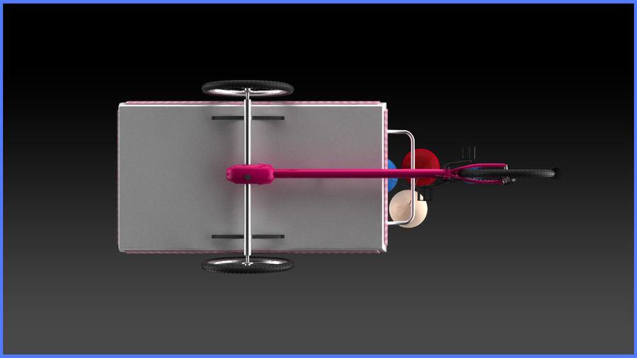 Carrinho de doces royalty-free 3d model - Preview no. 8