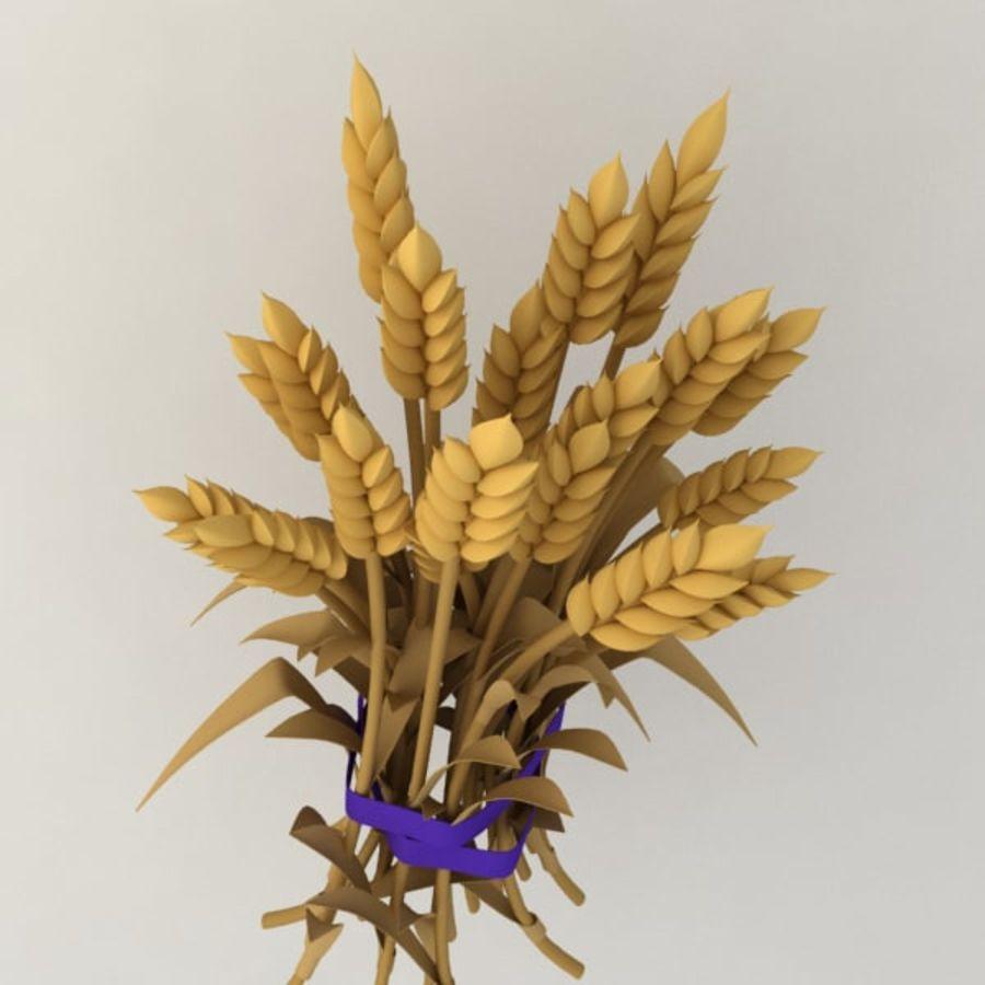 Il grano raccoglie royalty-free 3d model - Preview no. 2