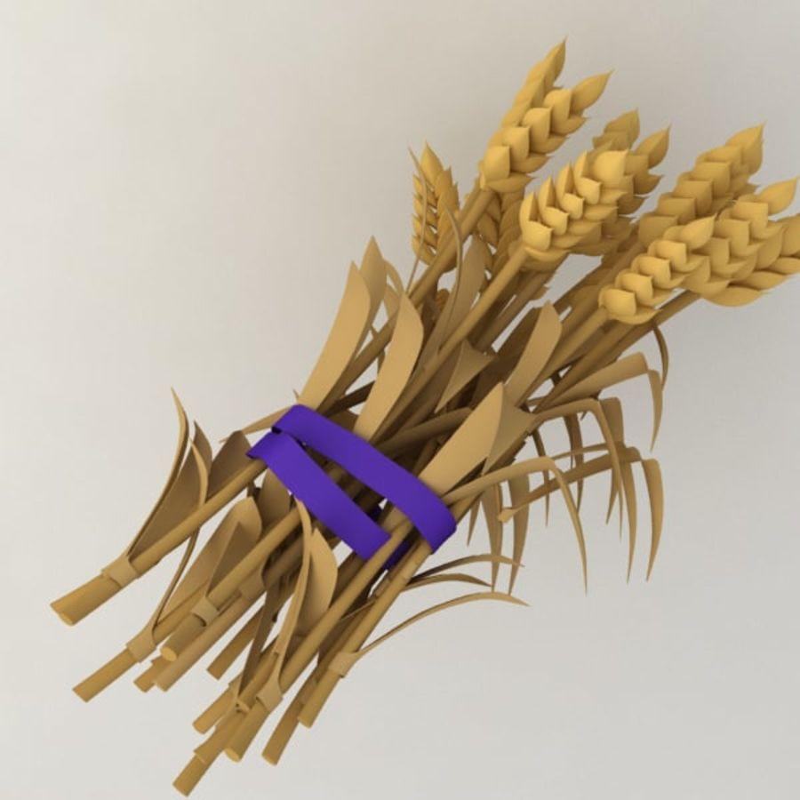 Il grano raccoglie royalty-free 3d model - Preview no. 3