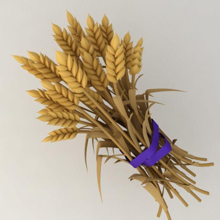 Il grano raccoglie royalty-free 3d model - Preview no. 1