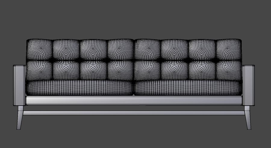Modern Sofa royalty-free 3d model - Preview no. 7