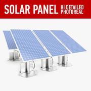 太阳能板 3d model