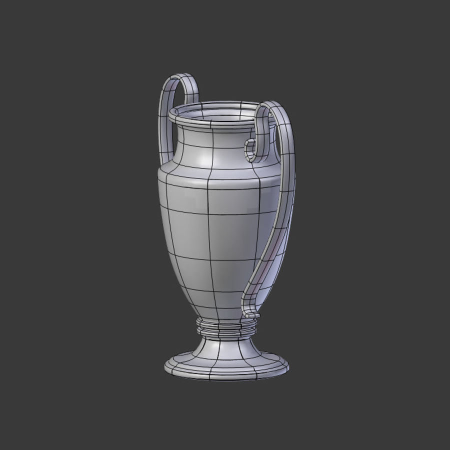 Trophy Cup V1 royalty-free 3d model - Preview no. 19
