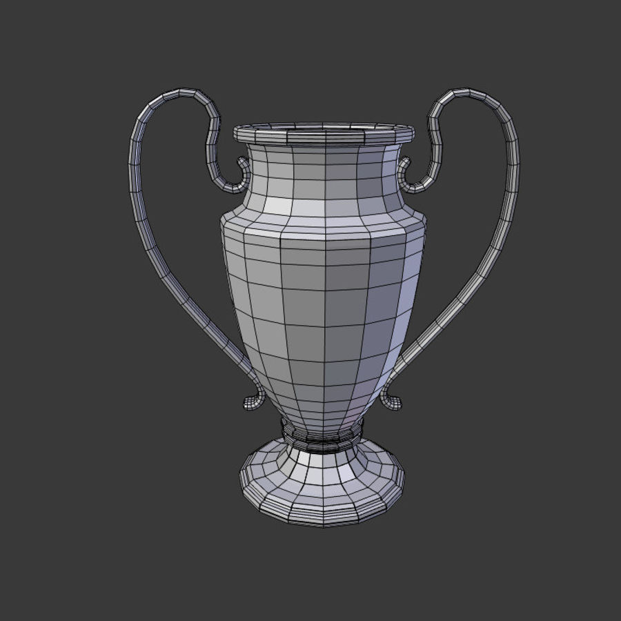 Trophy Cup V1 royalty-free 3d model - Preview no. 7