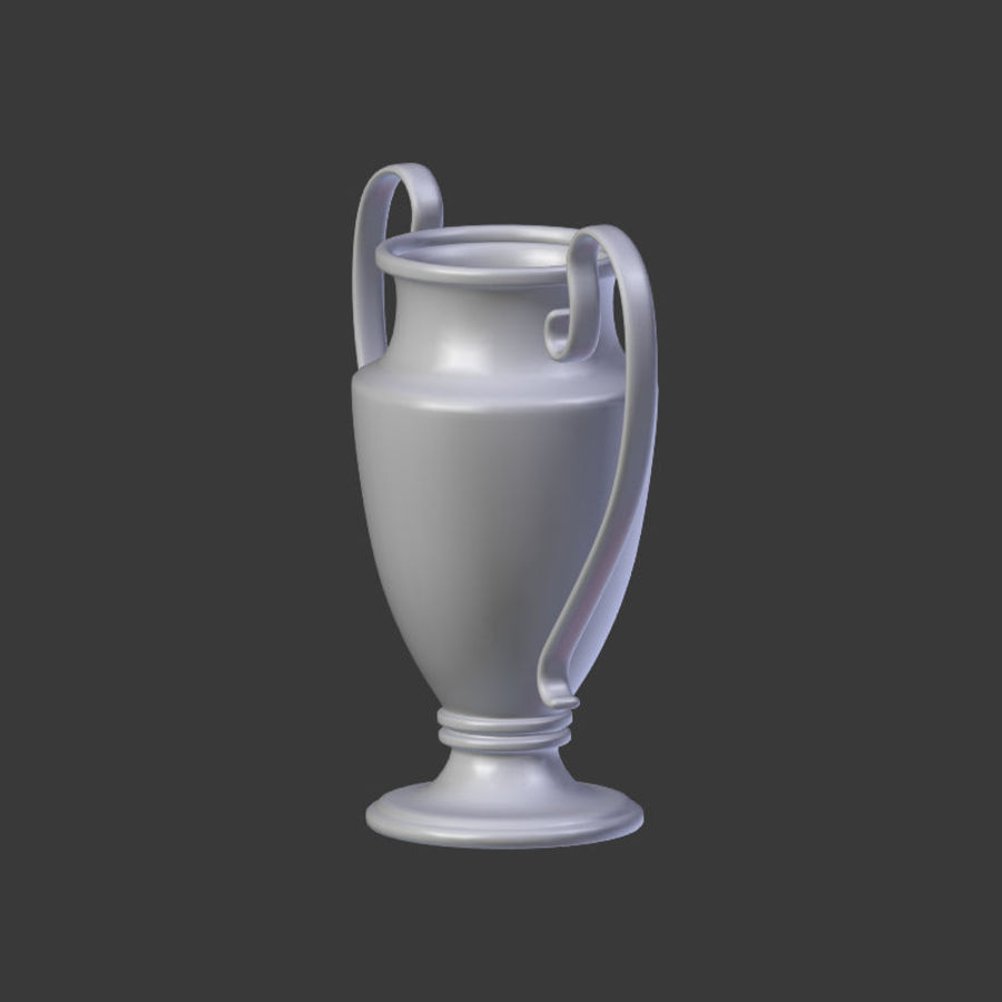 Trophy Cup V1 royalty-free 3d model - Preview no. 18