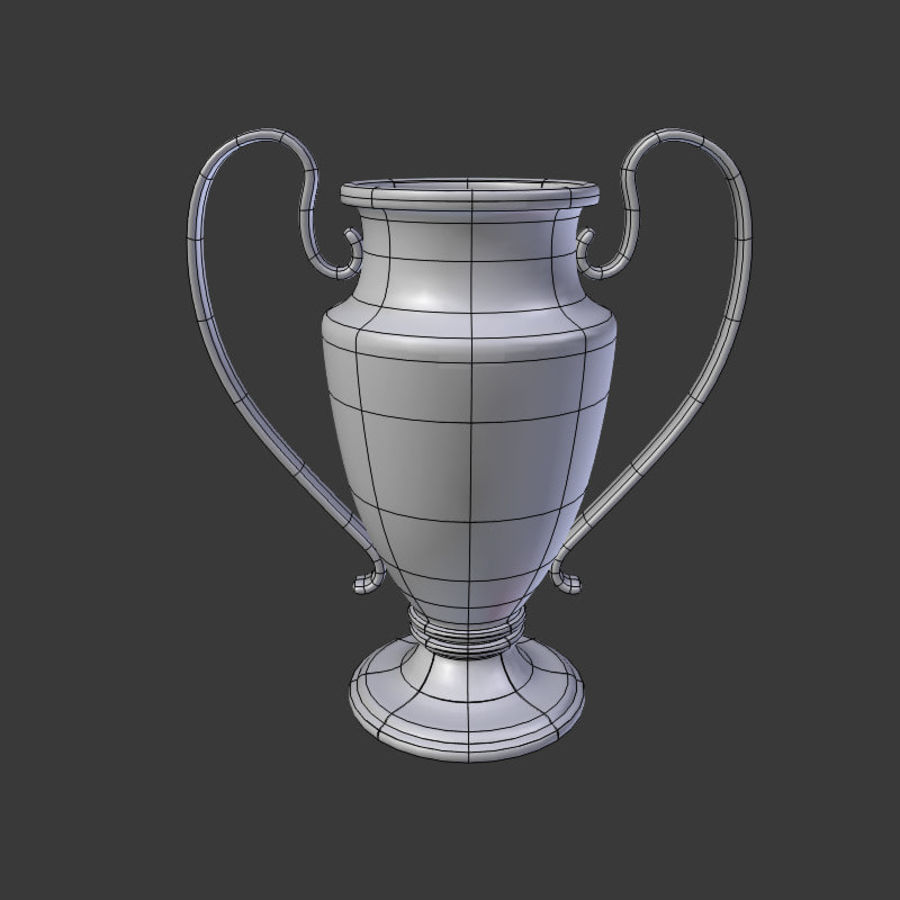 Trophy Cup V1 royalty-free 3d model - Preview no. 5