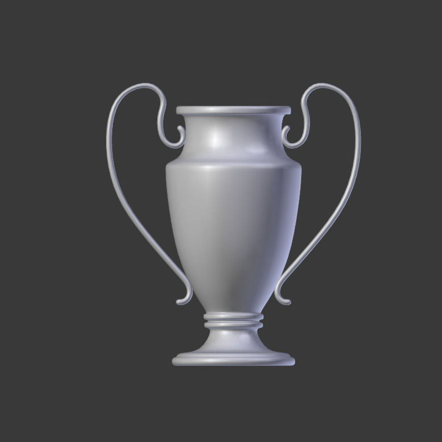 Trophy Cup V1 royalty-free 3d model - Preview no. 9