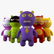 熊英雄 3d model