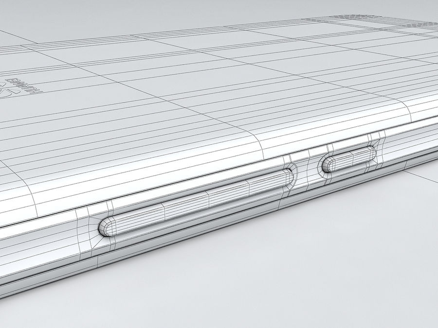 Huawei Y6 royalty-free 3d model - Preview no. 26