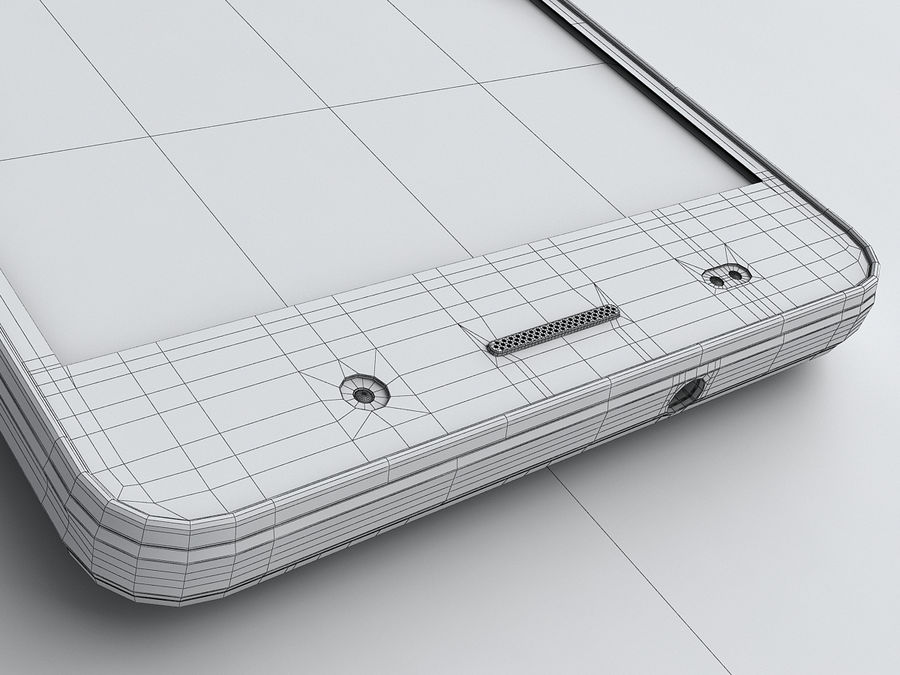 Huawei Y6 royalty-free 3d model - Preview no. 24
