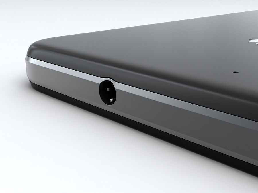 Huawei Y6 royalty-free 3d model - Preview no. 16