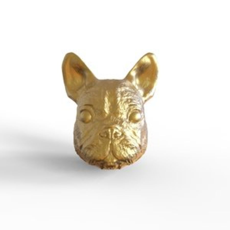 Dog Head royalty-free 3d model - Preview no. 1