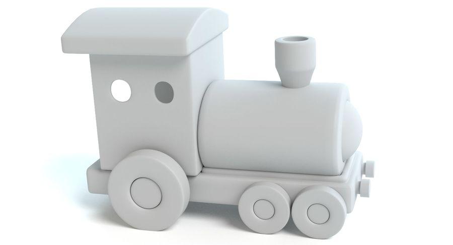 おもちゃの列車 royalty-free 3d model - Preview no. 8
