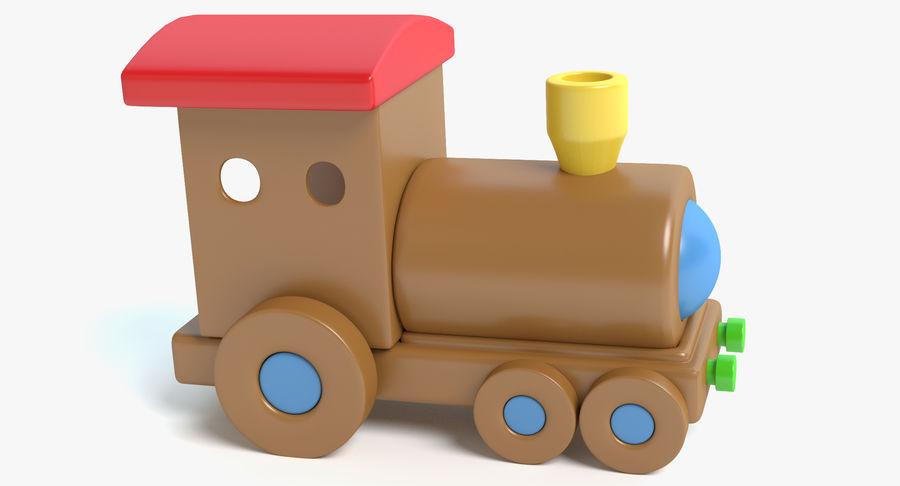 おもちゃの列車 royalty-free 3d model - Preview no. 2