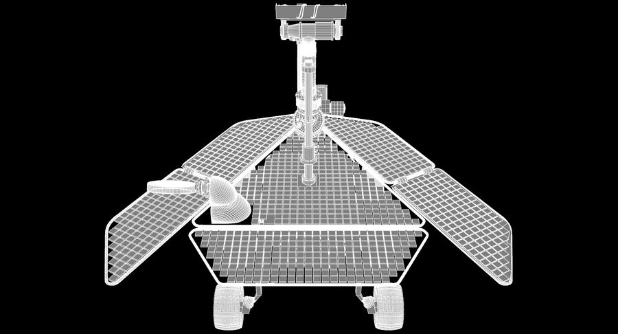Mars Rover royalty-free 3d model - Preview no. 9
