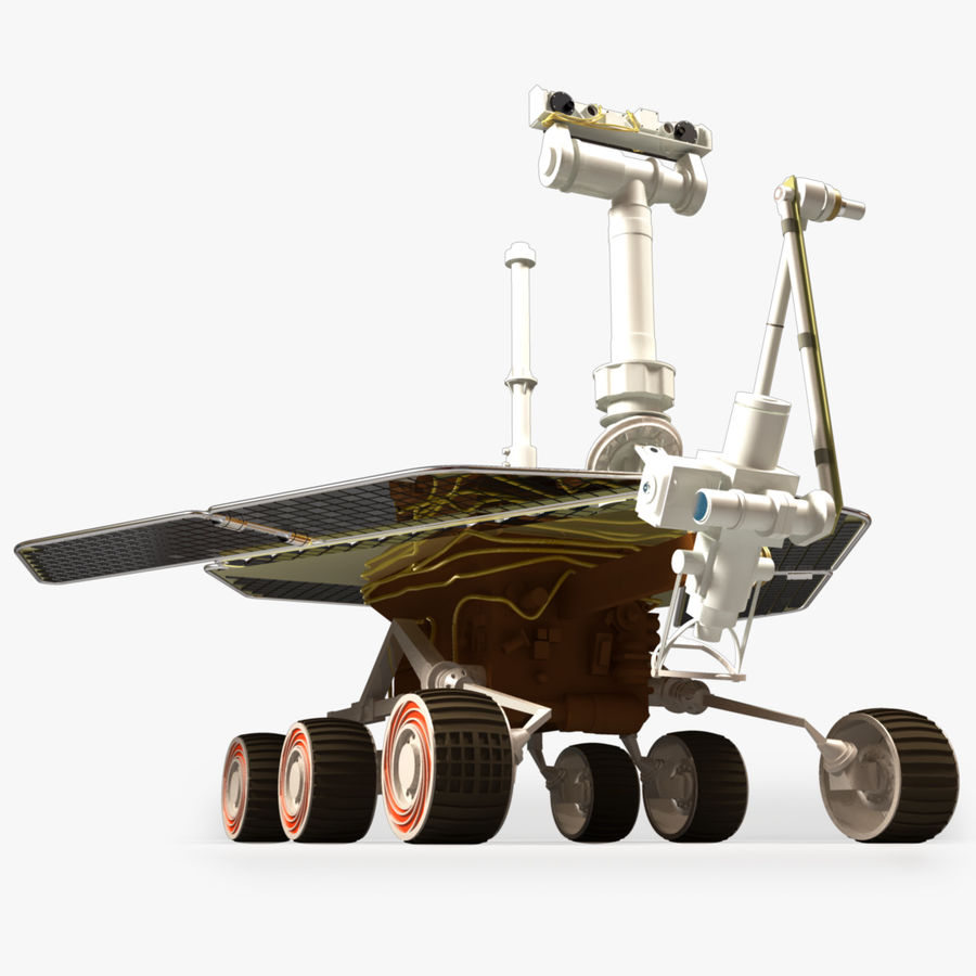 Mars Rover royalty-free 3d model - Preview no. 1