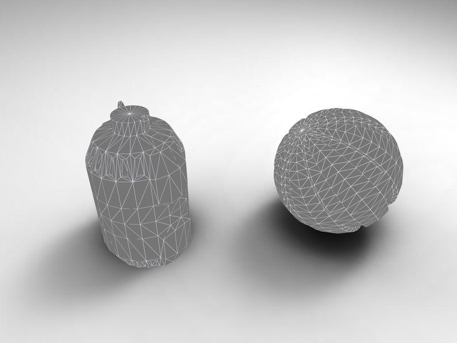 Modello 3D di fantascienza della granata royalty-free 3d model - Preview no. 41
