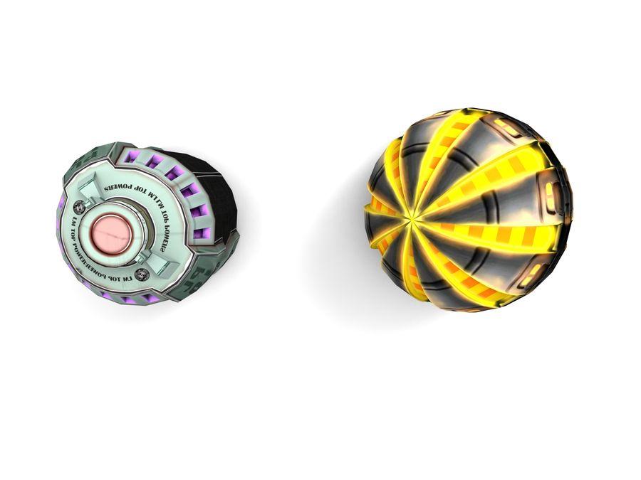Modello 3D di fantascienza della granata royalty-free 3d model - Preview no. 11
