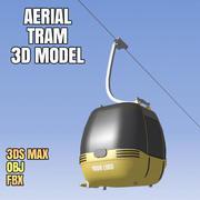 Hava Tramvay 3D Model 3d model