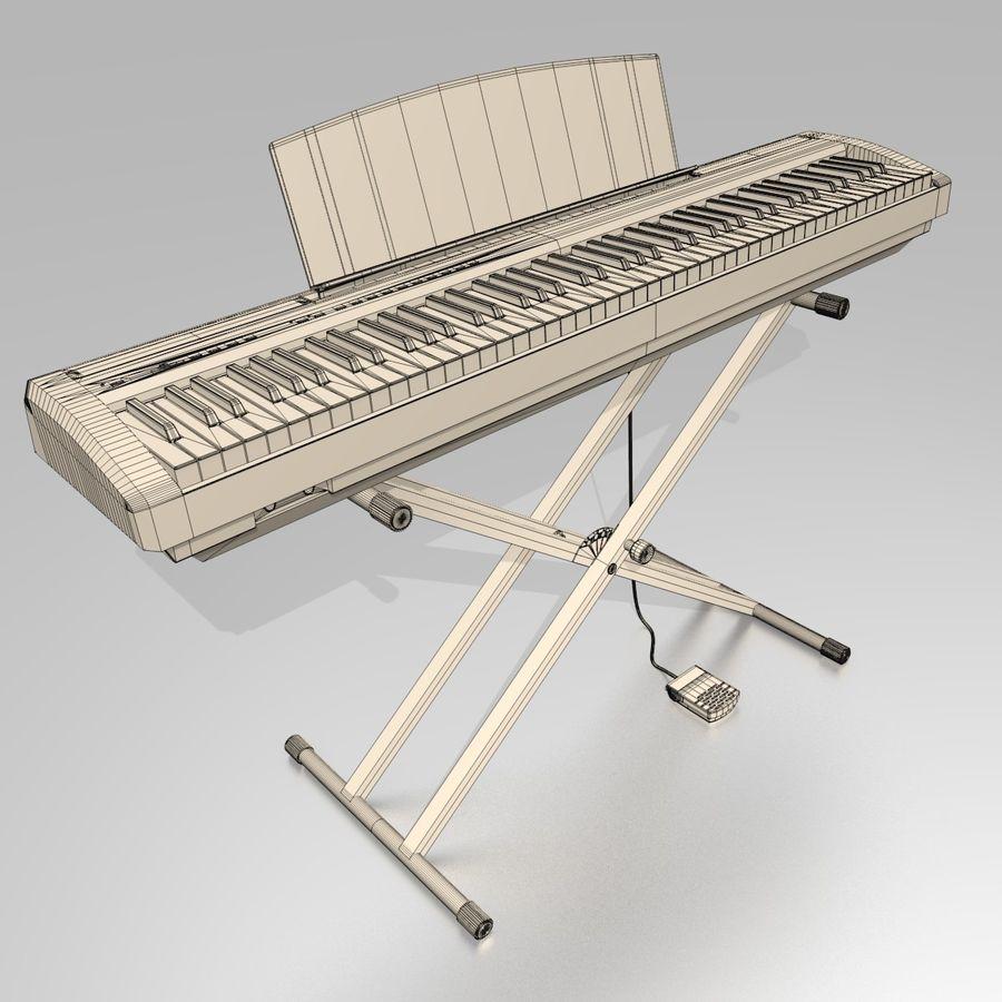 数字舞台钢琴 royalty-free 3d model - Preview no. 10