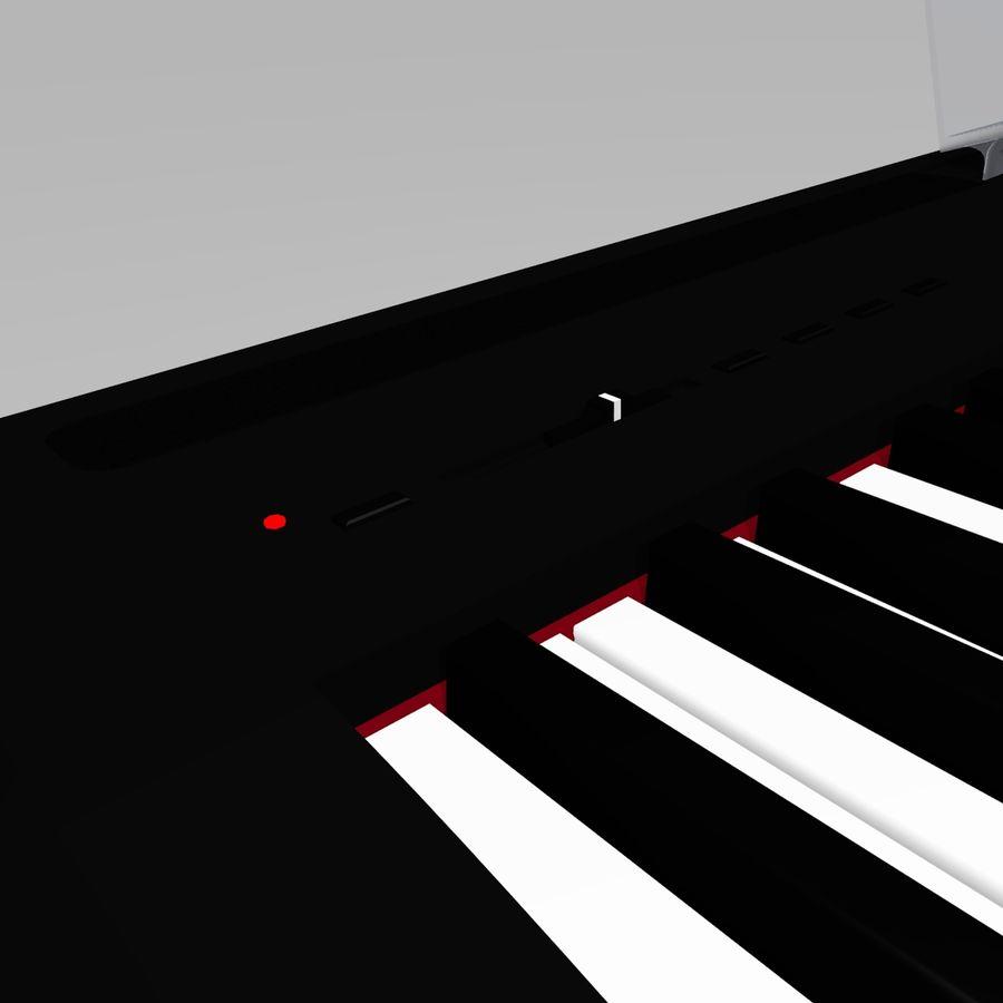 数字舞台钢琴 royalty-free 3d model - Preview no. 7