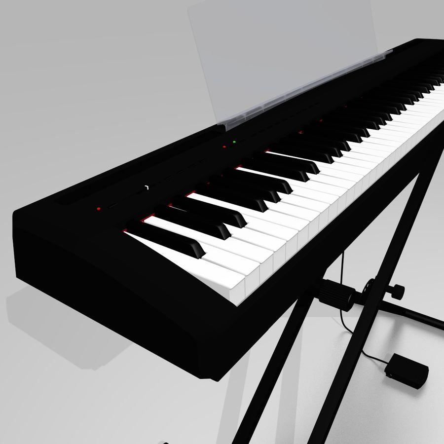 数字舞台钢琴 royalty-free 3d model - Preview no. 4