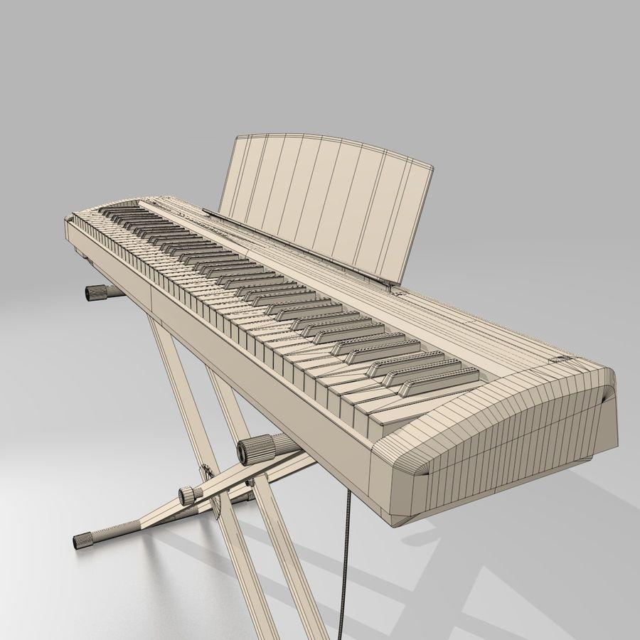 数字舞台钢琴 royalty-free 3d model - Preview no. 12