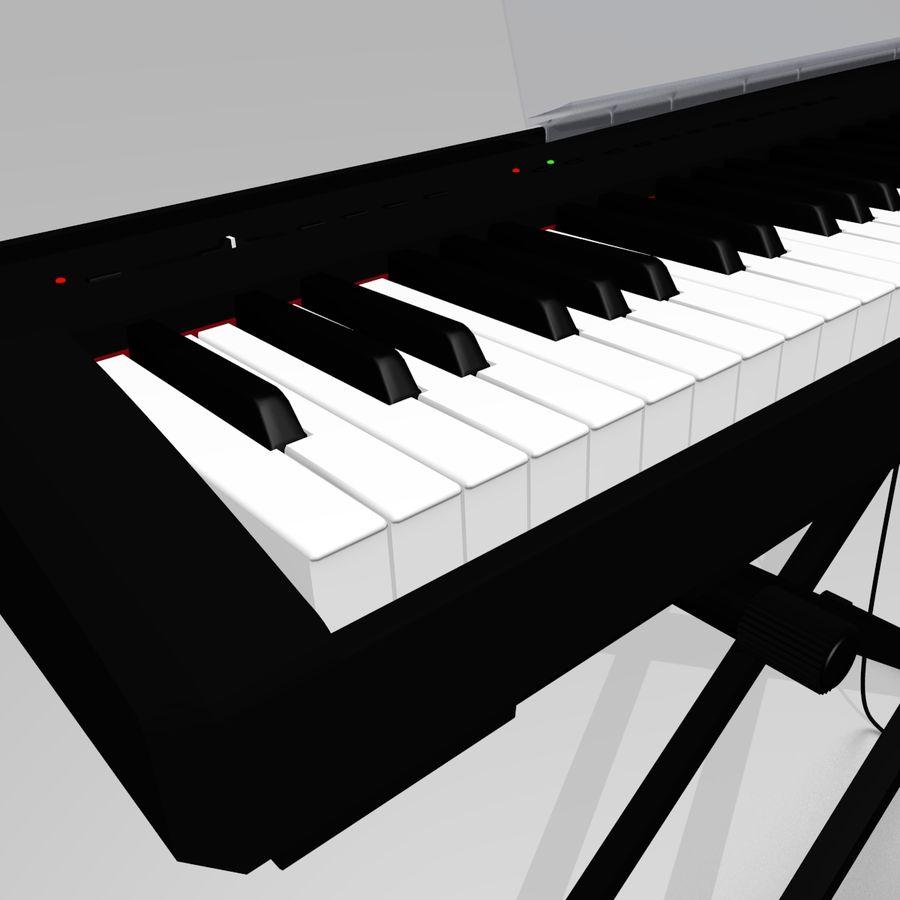 数字舞台钢琴 royalty-free 3d model - Preview no. 5