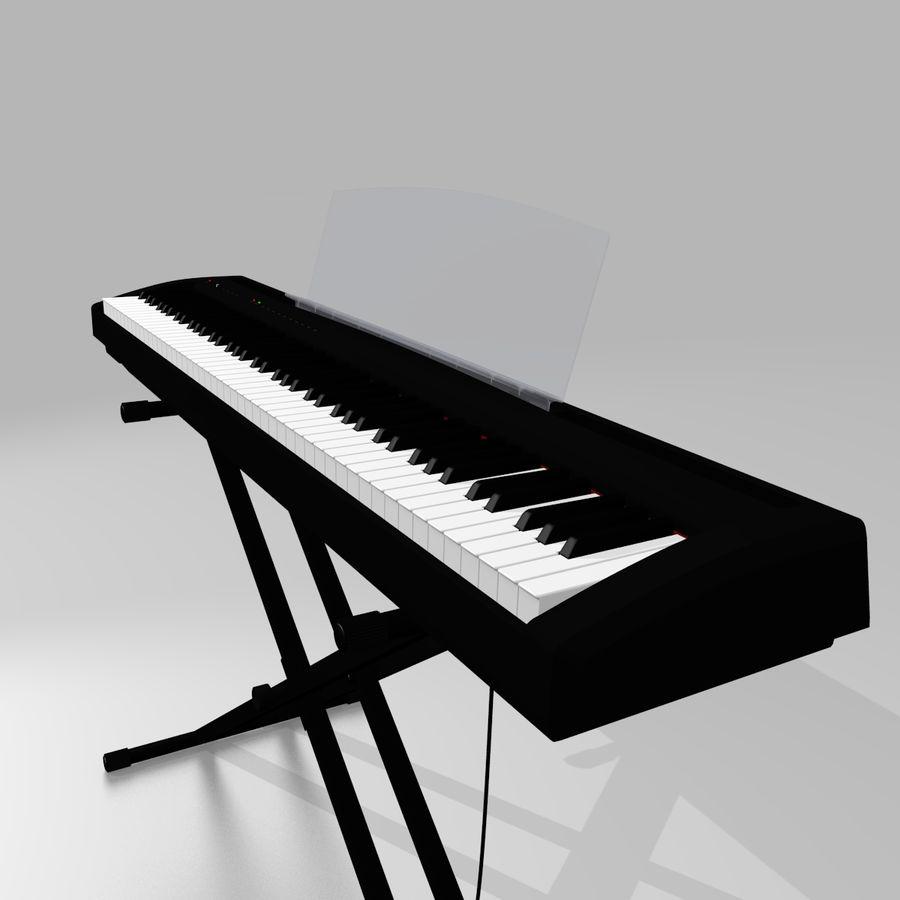 数字舞台钢琴 royalty-free 3d model - Preview no. 3