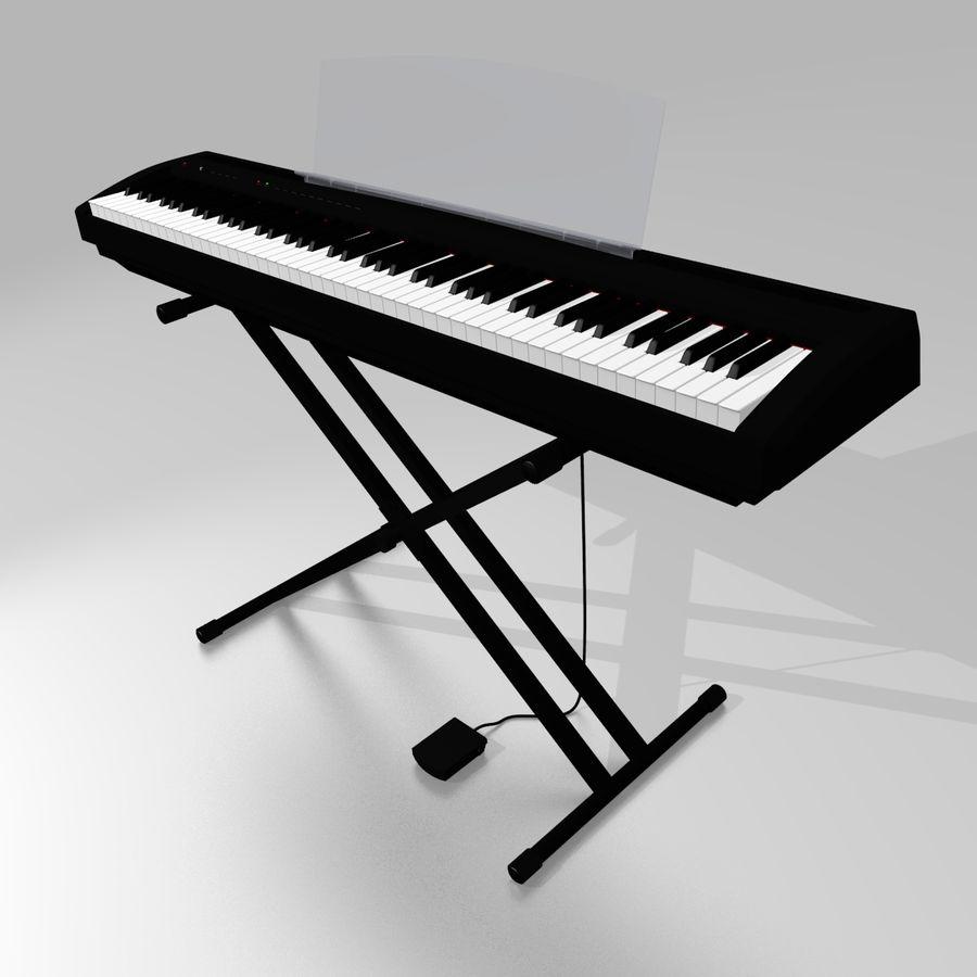 数字舞台钢琴 royalty-free 3d model - Preview no. 2