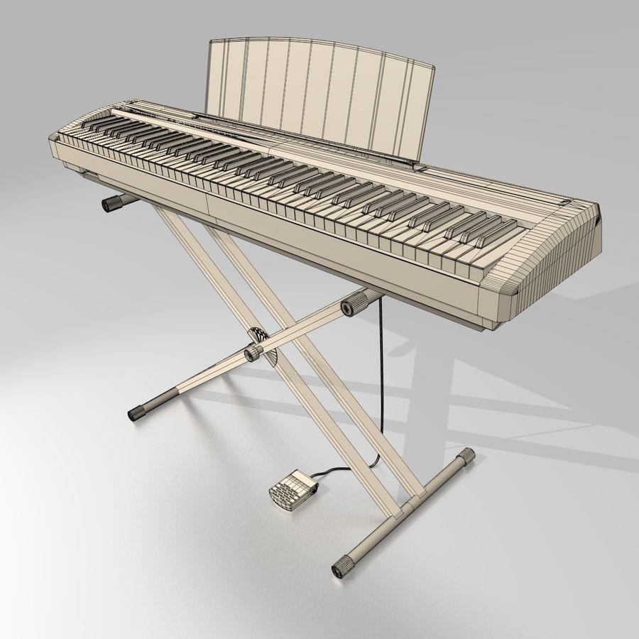 数字舞台钢琴 royalty-free 3d model - Preview no. 11