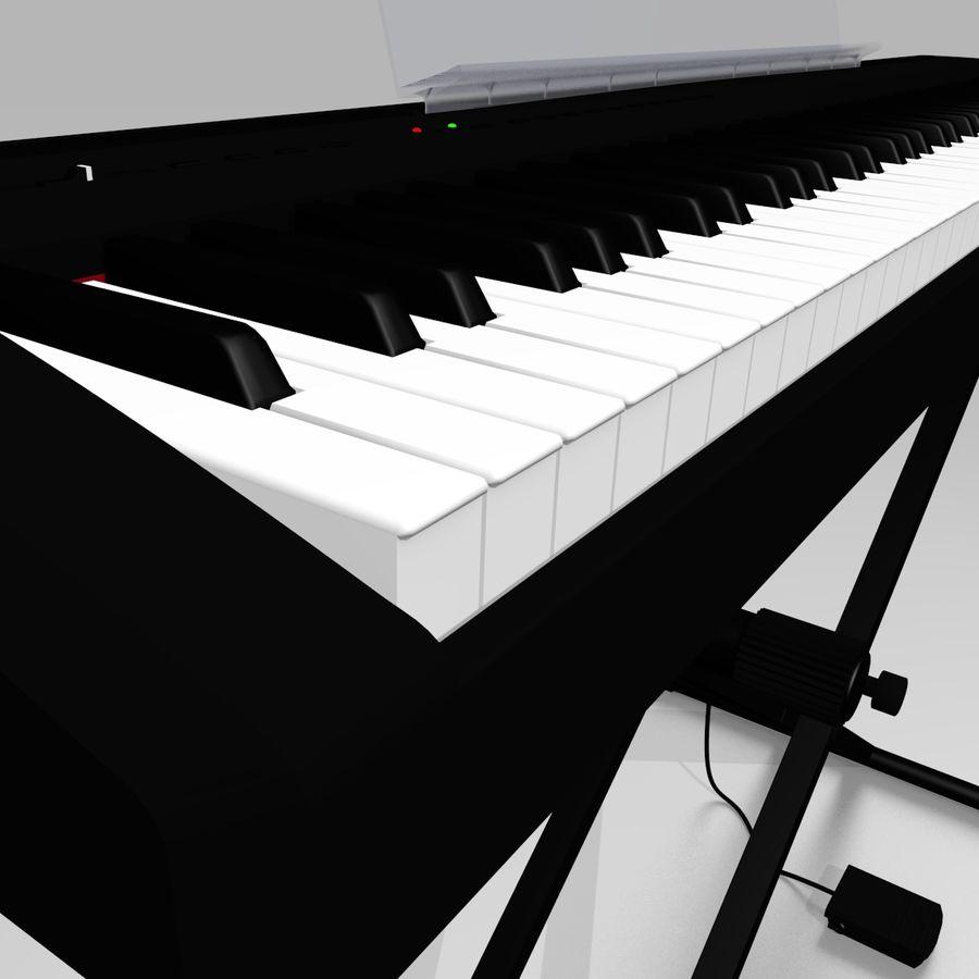 数字舞台钢琴 royalty-free 3d model - Preview no. 6