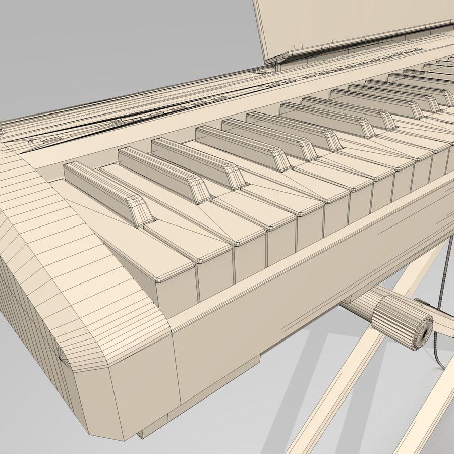 数字舞台钢琴 royalty-free 3d model - Preview no. 13