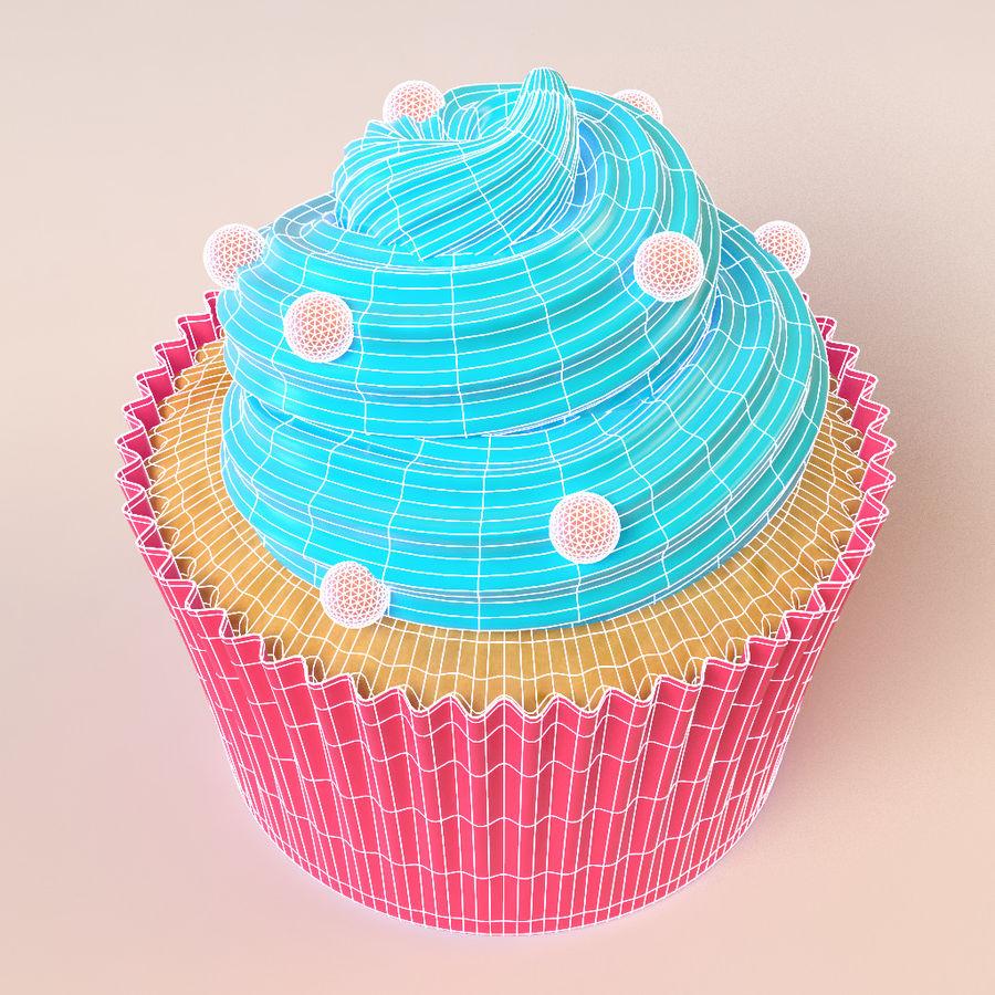 Petit gâteau royalty-free 3d model - Preview no. 3