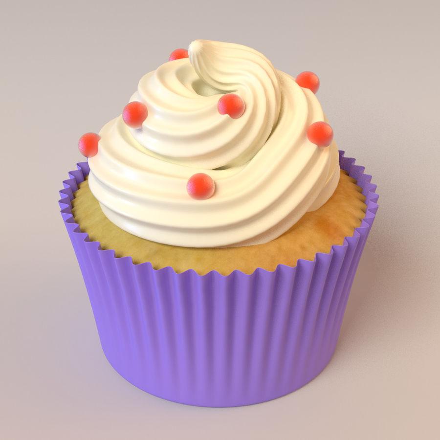 Petit gâteau royalty-free 3d model - Preview no. 6