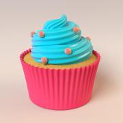 杯形饼 3d model