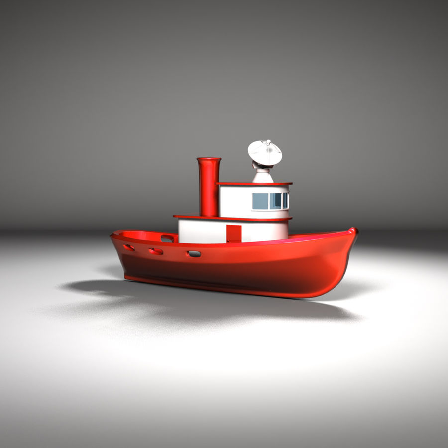 Boat royalty-free 3d model - Preview no. 8