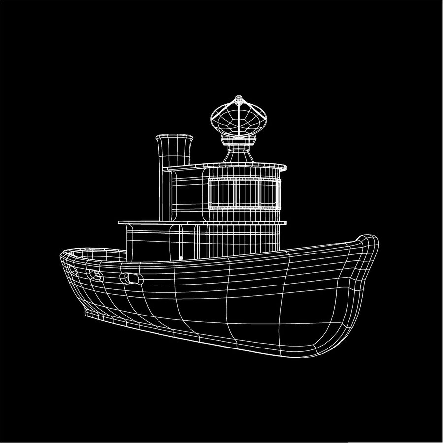 Boat royalty-free 3d model - Preview no. 17