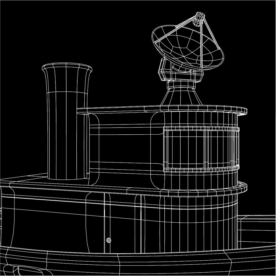 Boat royalty-free 3d model - Preview no. 10