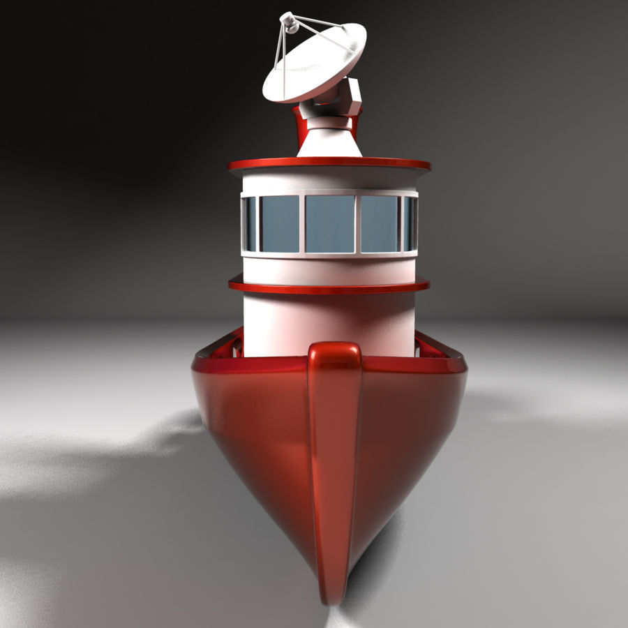 Boat royalty-free 3d model - Preview no. 5