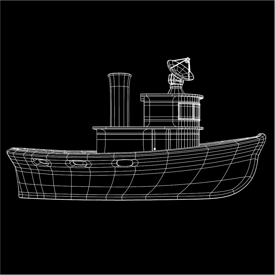Boat royalty-free 3d model - Preview no. 16