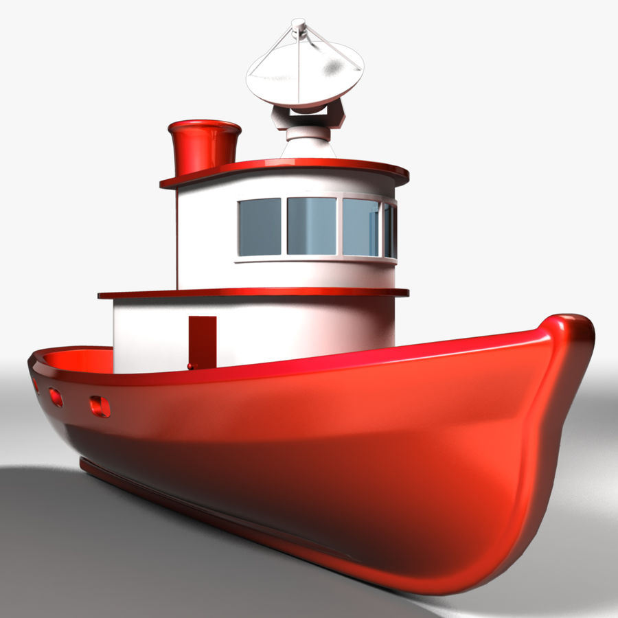 Boat royalty-free 3d model - Preview no. 1