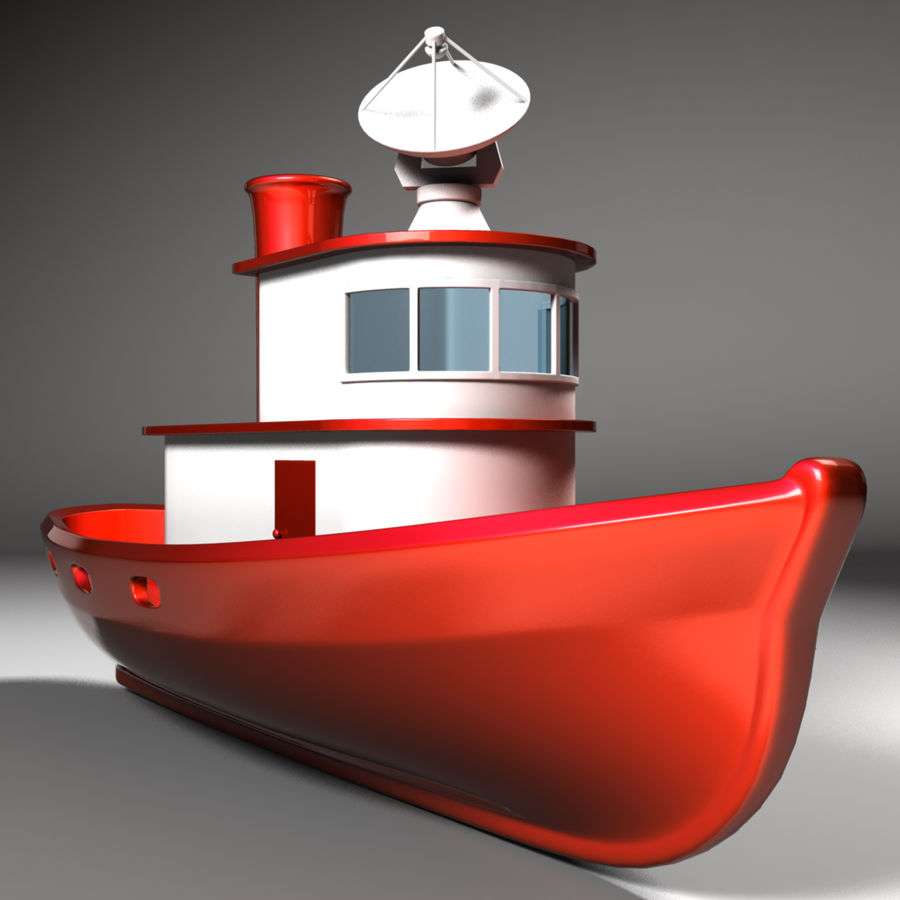 Boat royalty-free 3d model - Preview no. 2