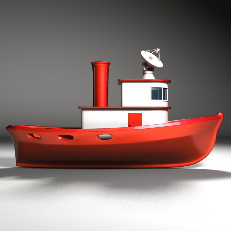 Boat royalty-free 3d model - Preview no. 6