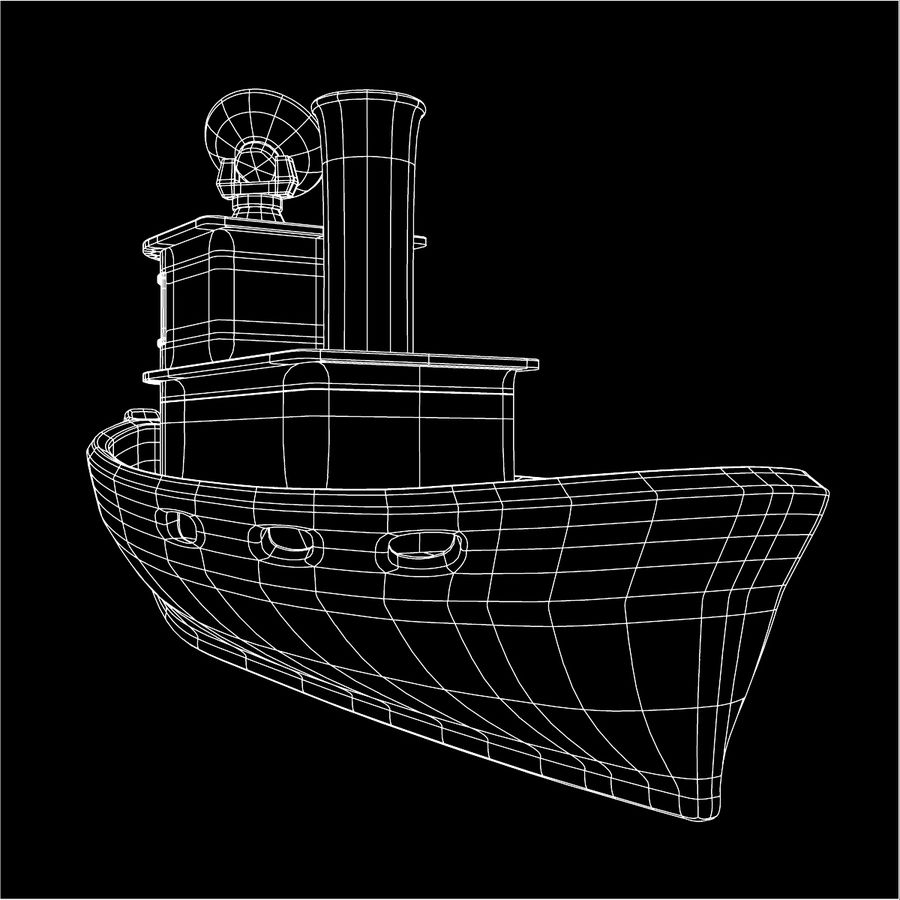 Boat royalty-free 3d model - Preview no. 12