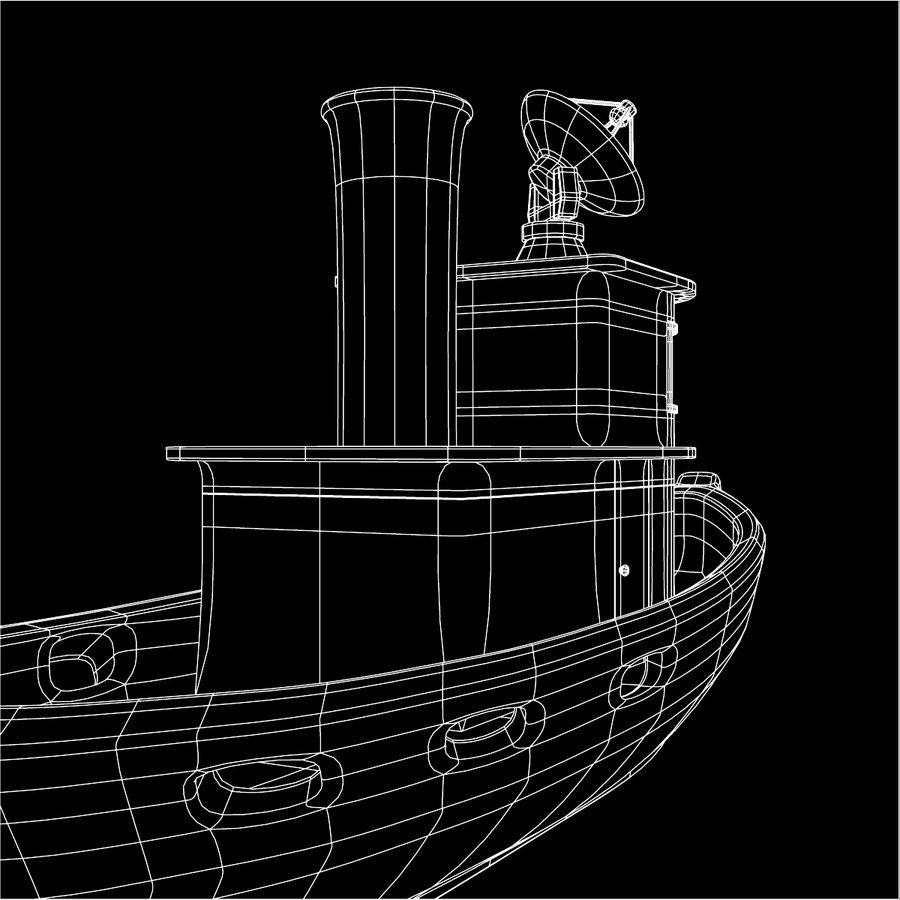 Boat royalty-free 3d model - Preview no. 11