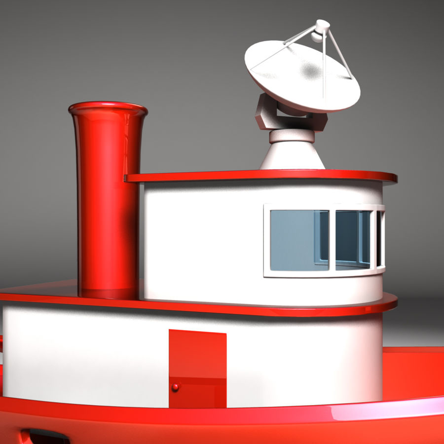 Boat royalty-free 3d model - Preview no. 3