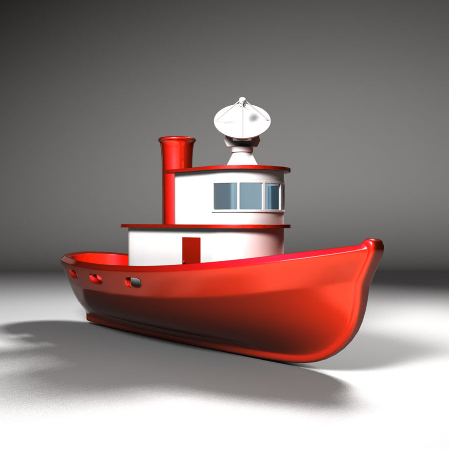 Boat royalty-free 3d model - Preview no. 7